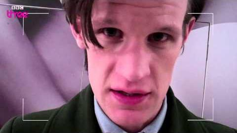 Matt Smith Prepares a Portrait - Doctor Who Confidential - Series 6 - Episode 12 - BBC Three