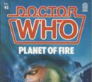 Planet of Fire (novelisation)