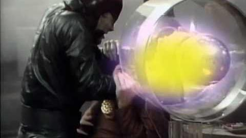 Jek and Morgus' Showdown - Doctor Who - The Caves of Androzani - BBC