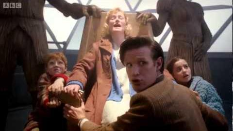 Home in time for Christmas - The Doctor the Widow and the Wardrobe - Doctor Who - BBC