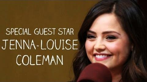 Doctor Who's Jenna-Louise Coleman on the Nerdist Podcast - Excerpt The Nerdist on BBC America