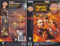 Planet of Fire VHS Australian folded out cover