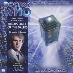Renaissance of the Daleks cover