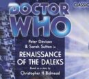 Renaissance of the Daleks (audio story)