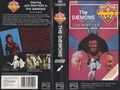 The Daemons VHS Australian folded out cover