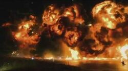 Real SFX - Torchwood Miracle Day Warehouse Explosion 2011