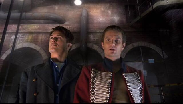 File:Jack and John Hart in Torchwood Hub.jpg