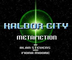 Kaldor-metafiction