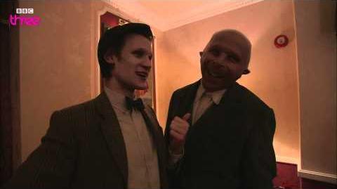 Matt Smith and Karen Gillan Interview David Walliams - Doctor Who Confidential - BBC Three