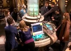 The Children of Time pilot the TARDIS.jpg