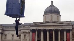 """DOCTOR WHO *Exclusive Extended* Inside Look Trafalgar Square Filming on """"The Day of The Doctor"""""""