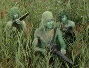 Swampies with guns