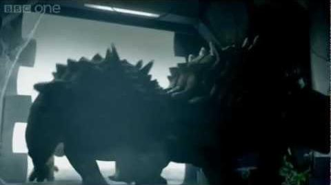 Run! - Doctor Who Dinosaurs on a Spaceship teaser - Series 7 Episode 2 - BBC One