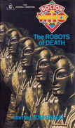 The Robots of Death VHS Australian cover