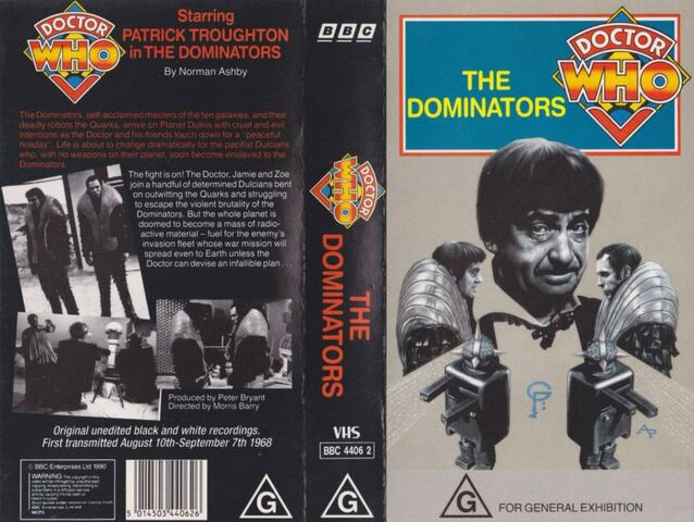 File:The Dominators VHS Australian folded out cover.jpg