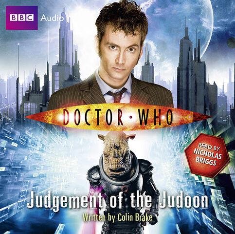 File:Judgement of the Judoon Audiobook.jpg
