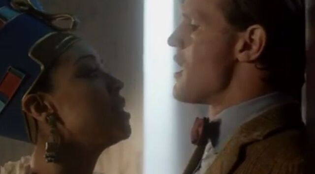 File:The Doctor and Nefertiti.JPG