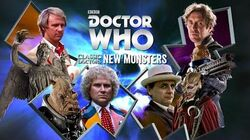 Doctor Who Classic Doctors New Monsters