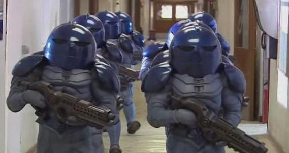 BBC - Doctor Who - The Sontarans - Character Guide