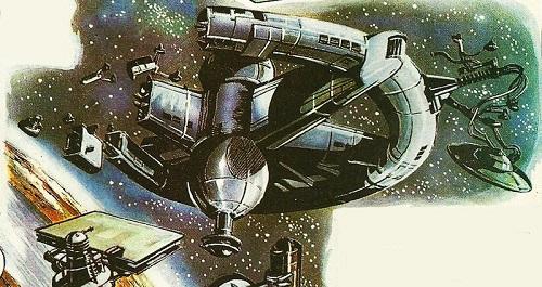 Dalek space station EveofWar