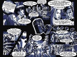 Doctor Who and the Last Stand comic story