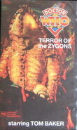 Terror of the Zygons VHS Australian cover
