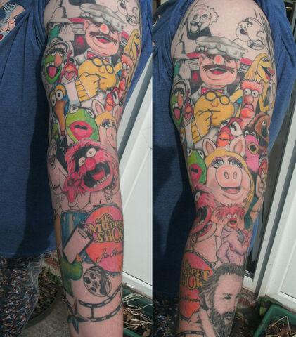 File:Muppet show tattoo sleeve by jinxiejinx13.jpg