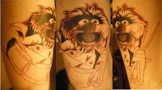 File:Animal Muppet Tattoo by pisopez.jpg