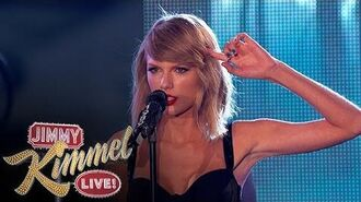 "Taylor Swift Performs ""Out of the Woods""-2"