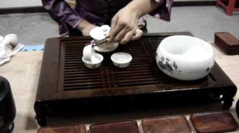 The Chinese tea ceremony in full.