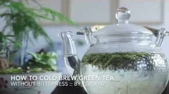 Cold Brew Green Tea Guide - How To Make Cold Brew Iced Tea