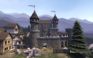 DeGroot Keep the outside of the castle TF2