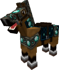 Diamond-horse-armor