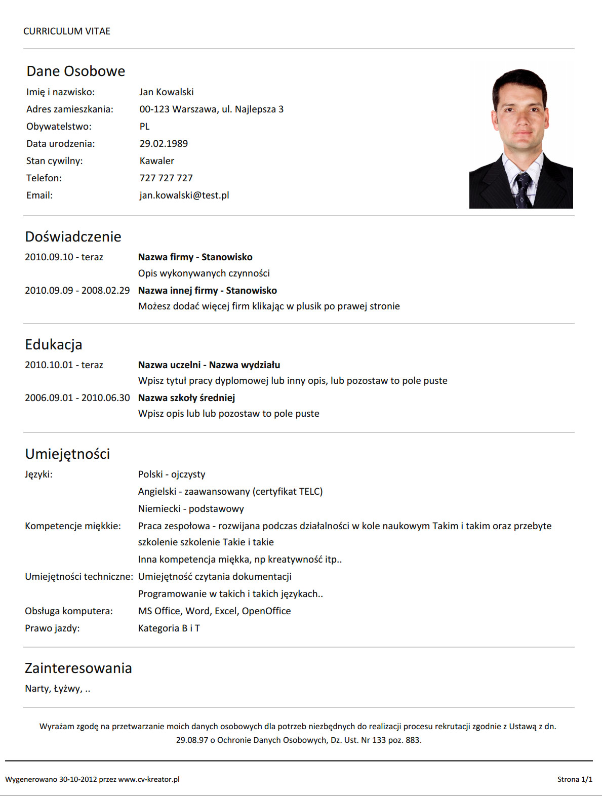 How To Build A Proper Resume Seangarrettecohow