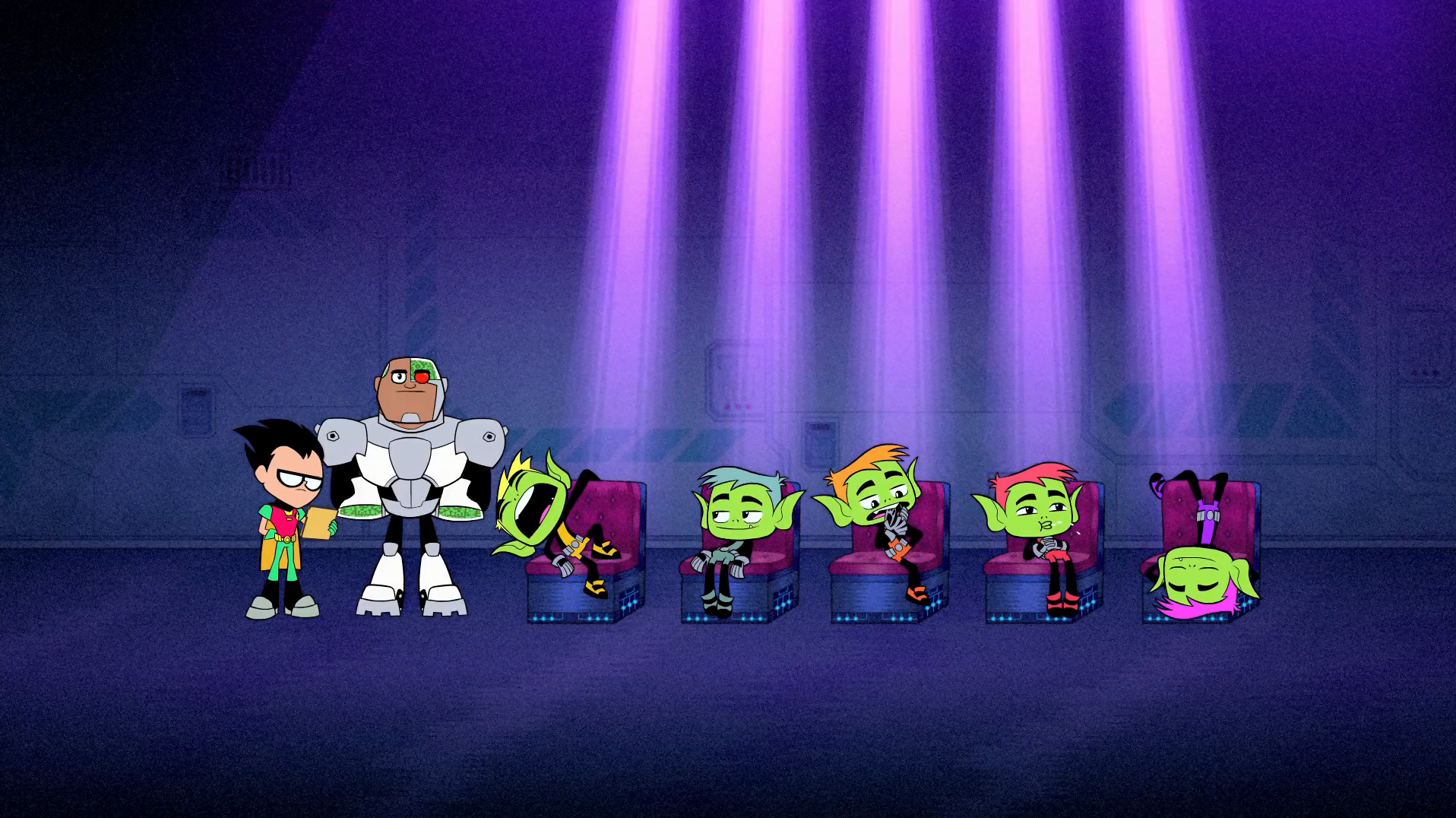 Call Teen Titans From Their 83