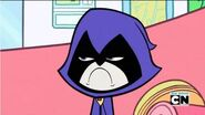 Raven frown