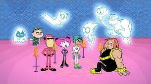 "Teen Titans Go! - ""Scary Figure Dance"" (clip)"