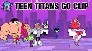 Teen Titans Go DOG HAND Official Clip