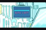 Data lost