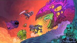 Teen Titans Go Campfire Stories Clip