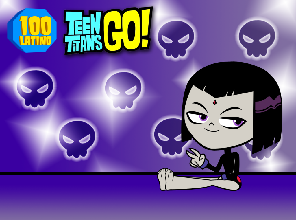 Image Teen Titans Go Raven Feet By 100latino D7djfqy Png