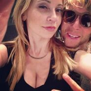 Tara Strong with Greg Cipes