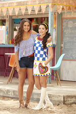 Mack and Lela Teen Beach 2 Promotional Picture