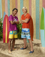 Devon and Brady Teen Beach 2 Promotional Picture