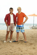 Tanner and Brady Teen Beach 2 Promotional Picture
