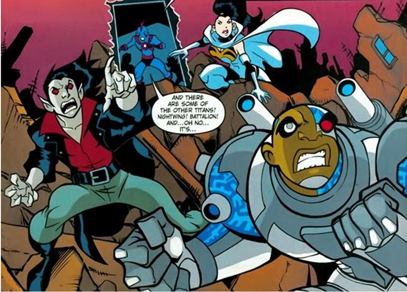 Spot Earth Teen Titans 72