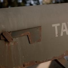 Boite aux lettres de la famille Tate