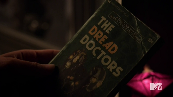 Teen Wolf Season 5 Episode 4 Condition Terminal Dread Doctors Book