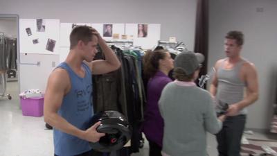Teen Wolf Behind the Scenes Carver Helmet
