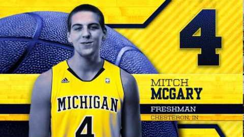 Get to Know Your Wolverines - Mitch McGary